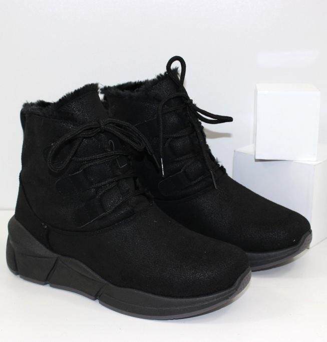 Купить женские зимние ботинки - дроп