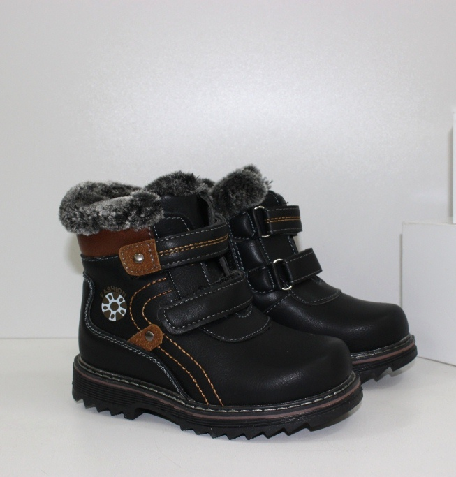 Зимние ботинки для мальчика 716 - купить в магазине детской зимней обуви