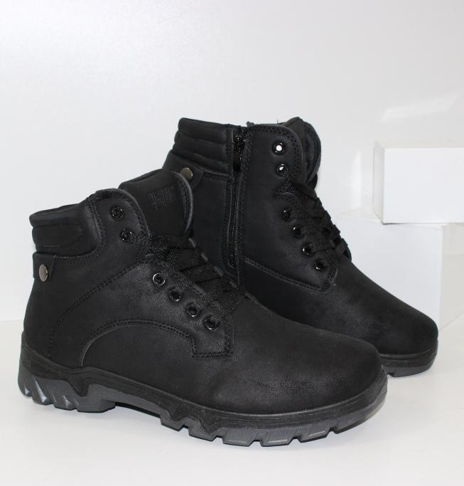Купить зимние ботинки  на меху дешево, интернет магазин обуви
