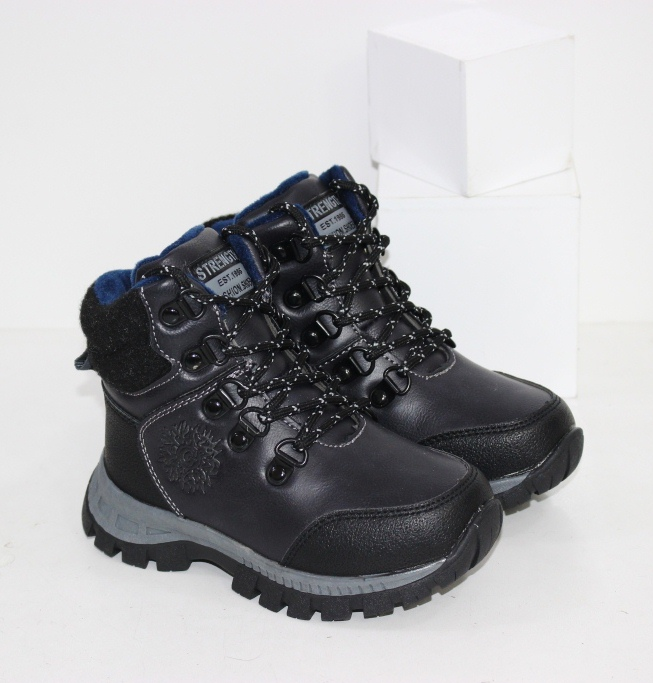 Купить зимние ботинки для мальчика на нескользкой подошве