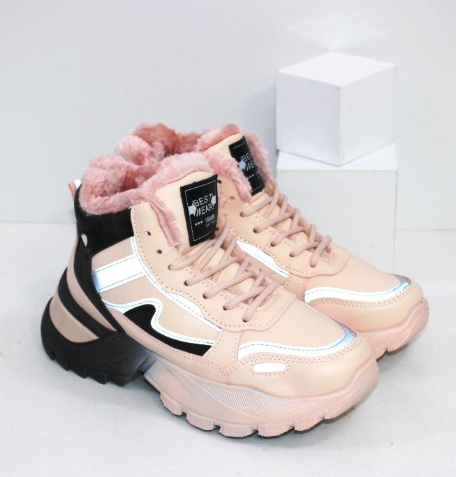 Купить зимние кроссовки на толстой подошве